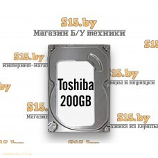 "Жёсткий диск б/у 2.5"" 200Gb Toshiba"